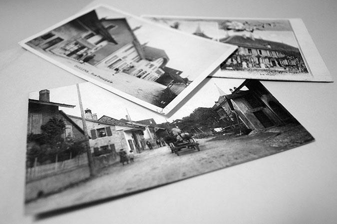 Cartes postales anciennes - Archives de la Commune de Daillens